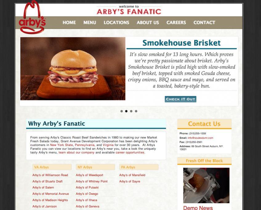 Arby's Fanatic
