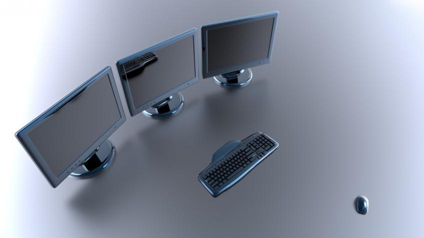 dual monitor, productivity